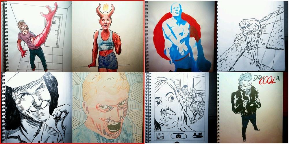 Sketchbook Entries by stinson627