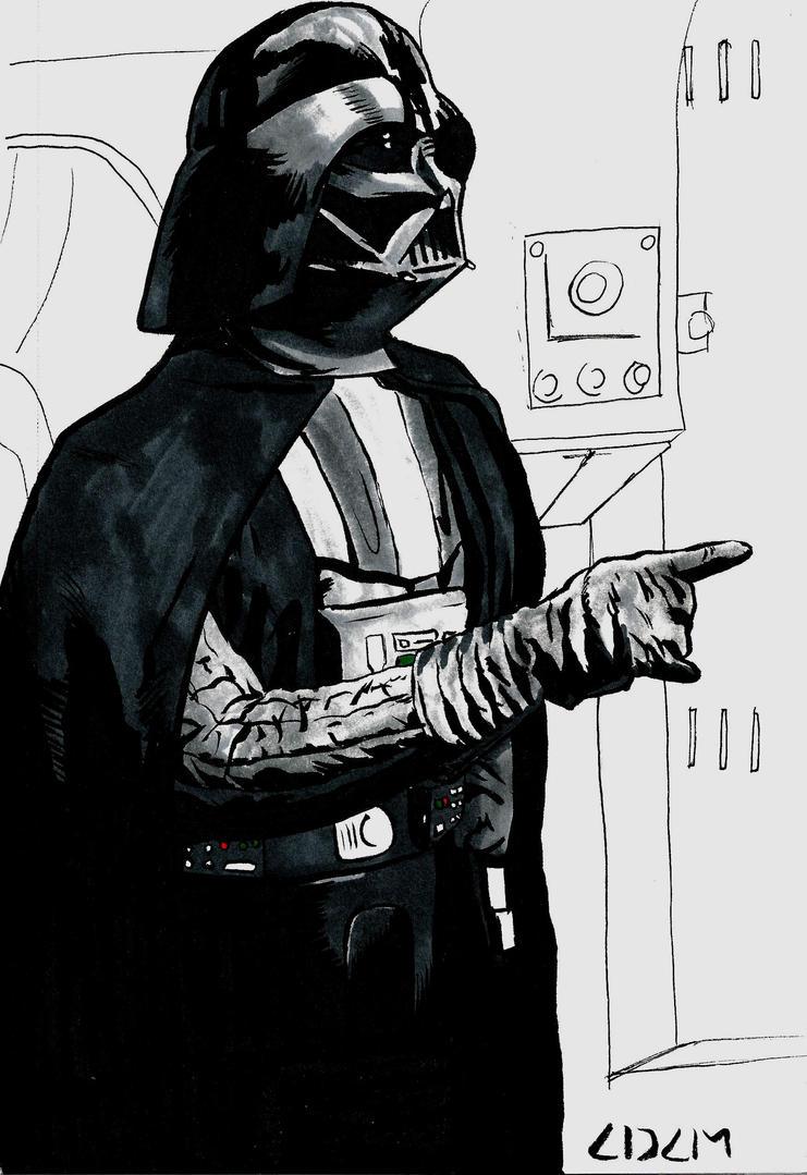 Darth Vader by stinson627