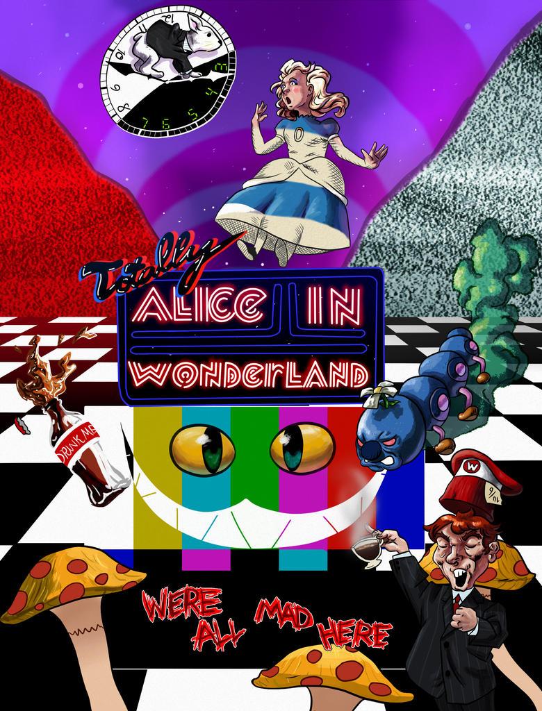 Alice In Wonderland by stinson627