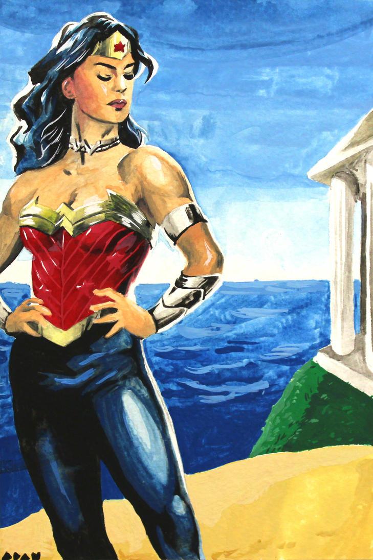 Wonder Woman by stinson627
