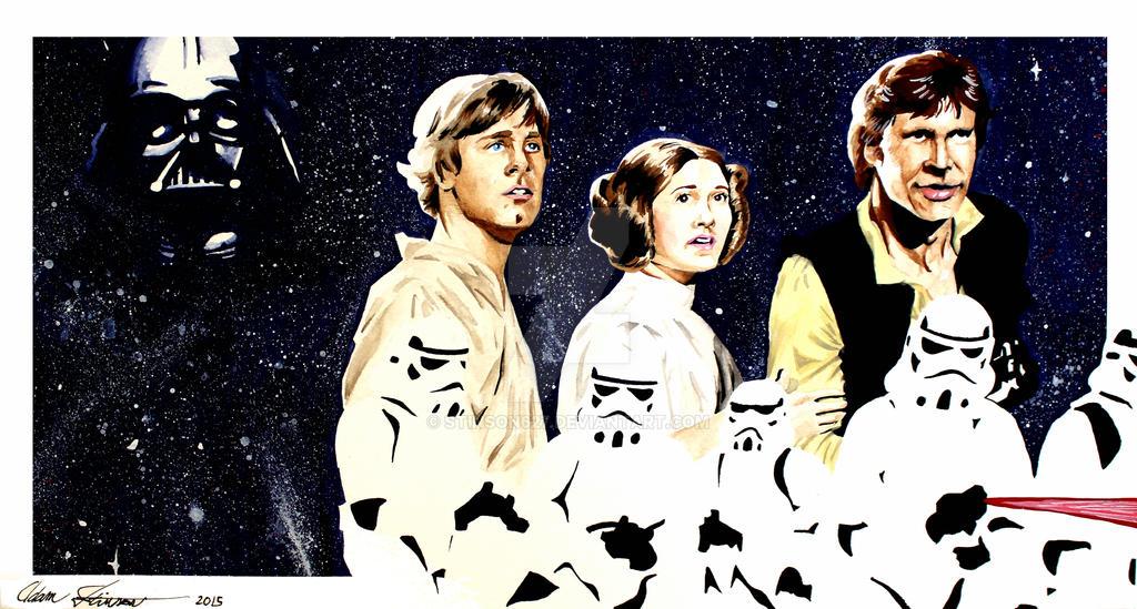 Star Wars by stinson627