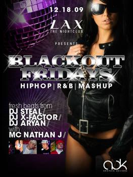 Poster Design - Blackout