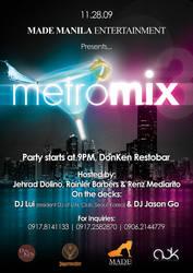 Poster Design - MetroMix