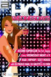 Poster Design - HOT Wednesdays