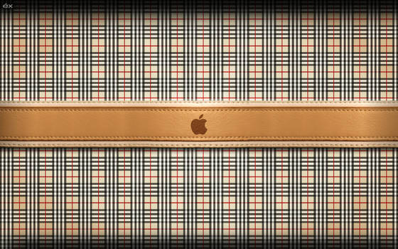 Burberry and Apple