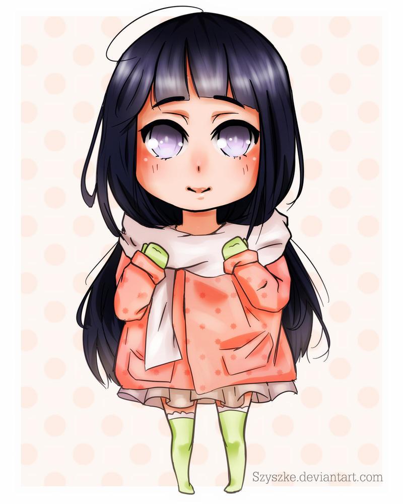 Hinata Chibi by szyszke