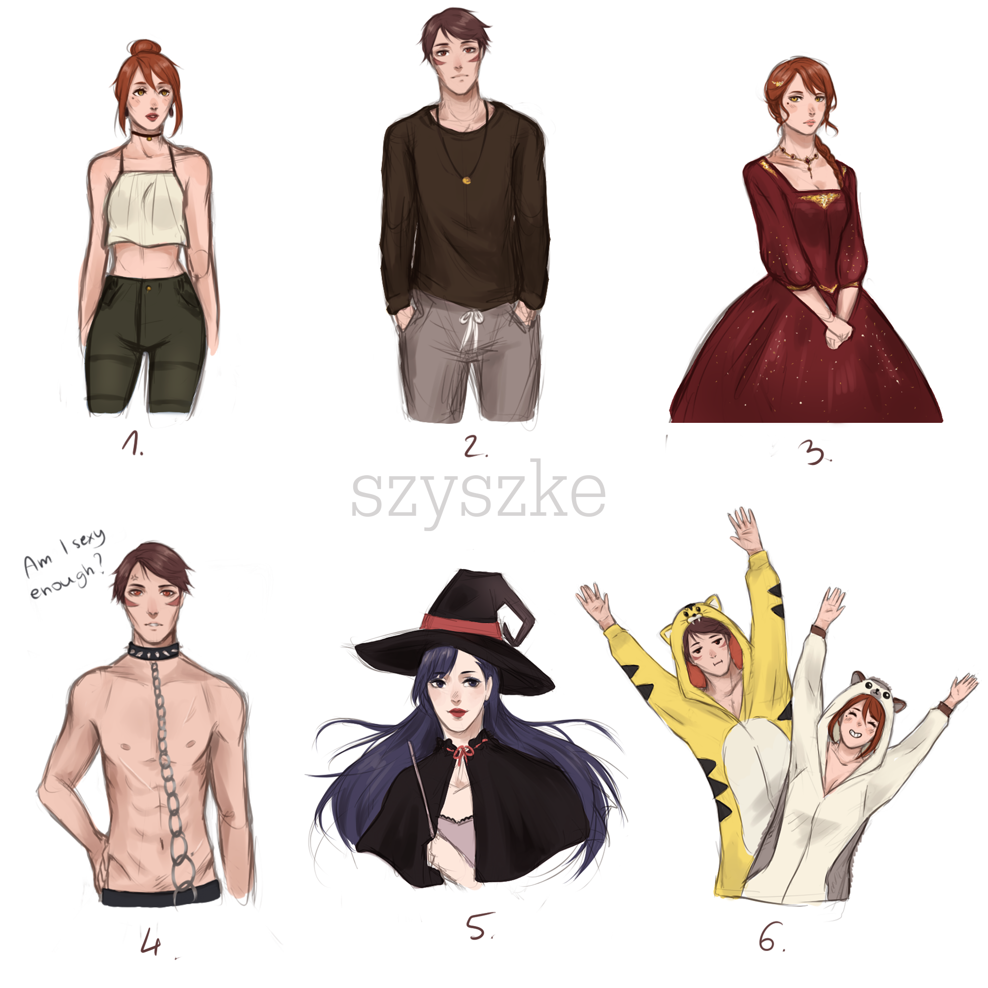Outfit Meme By Szyszke On DeviantArt