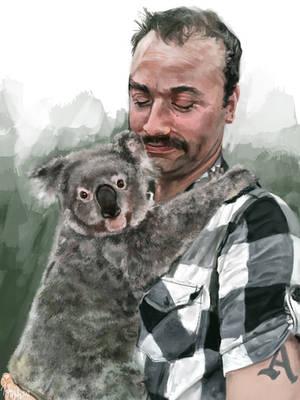 Koala by vladimir-the-hamster