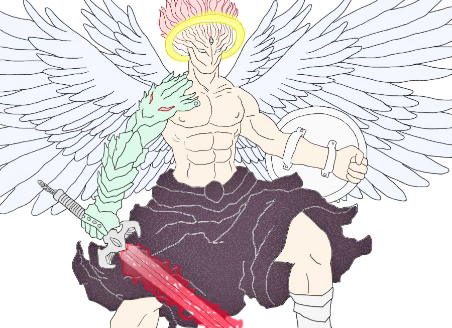 Archangel Gabriel by chambs