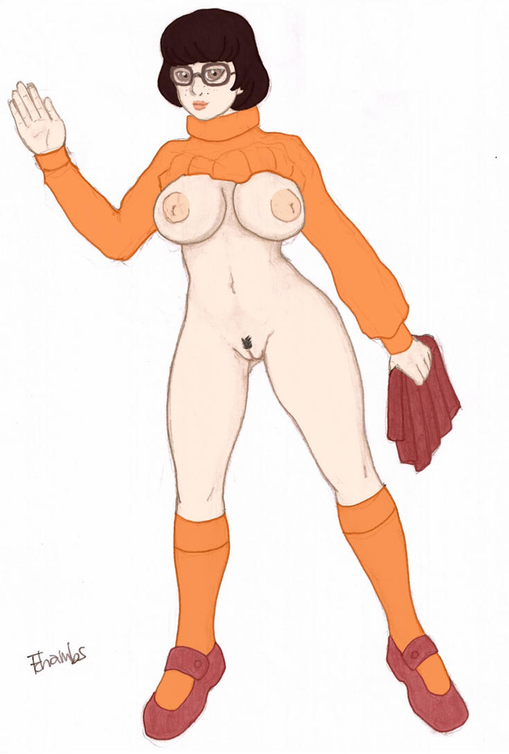 Velma from Scooby Doo naked by chambs