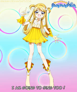 Mermaid Melody OC - Chiara's singer form