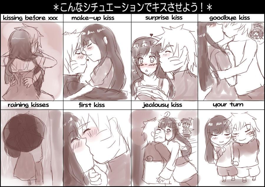 kissing meme by NarutoxHinatafan on DeviantArt