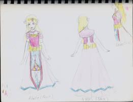 wind waker princess zelda