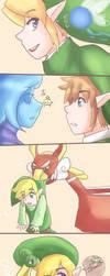 Link's partners by NarutoxHinatafan