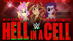 WWE MLP HELL IN A CELL 2018 POSTER by StarsetStyles100