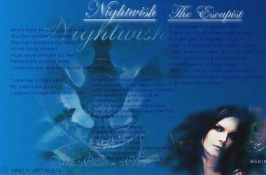 Nightwish-The Escapist by KirmaAkiraLee