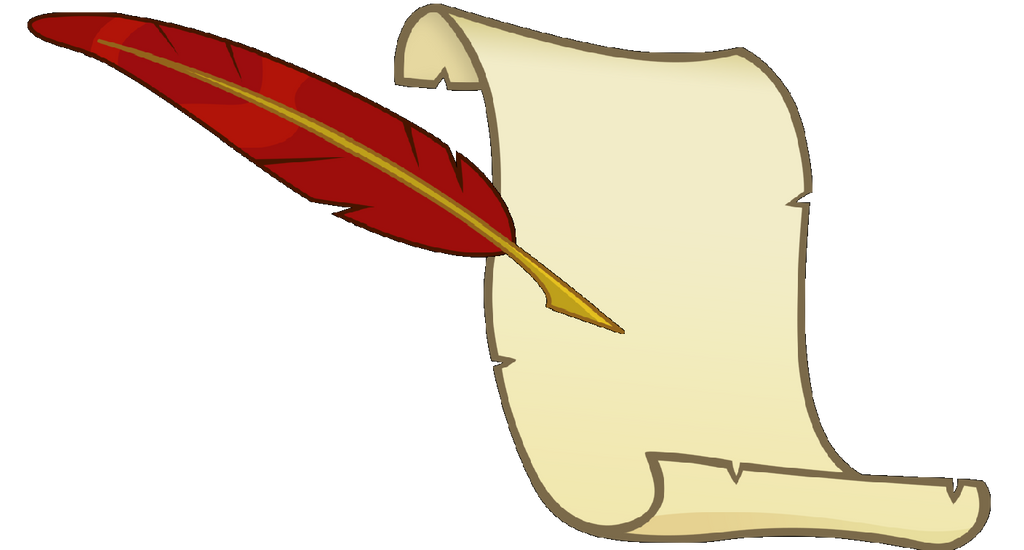Quill And Paper Clipart - fedinvestonline