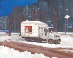Gouache truck by VishKeks