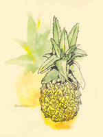 Pineapple (2) by VishKeks