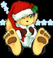 Com - Christmas Pup by HomunculusLover