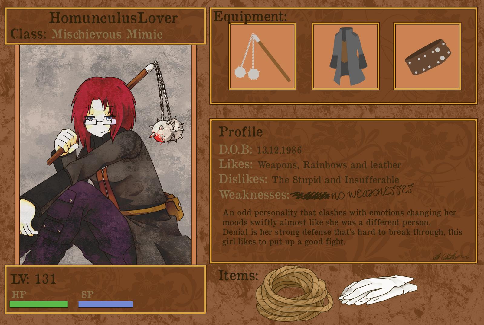 HomunculusLover's Profile Picture
