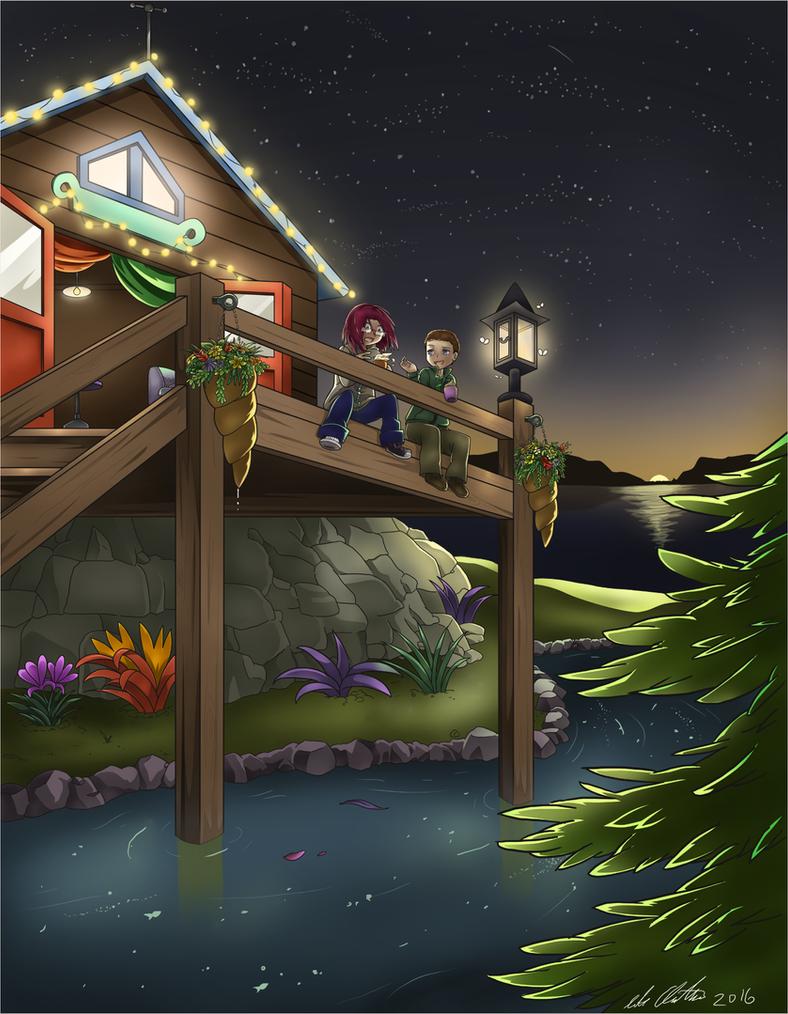 Com - Dark Nights and Star Lights by HomunculusLover