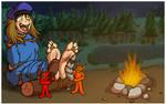 Devil's Campsite - Kikki