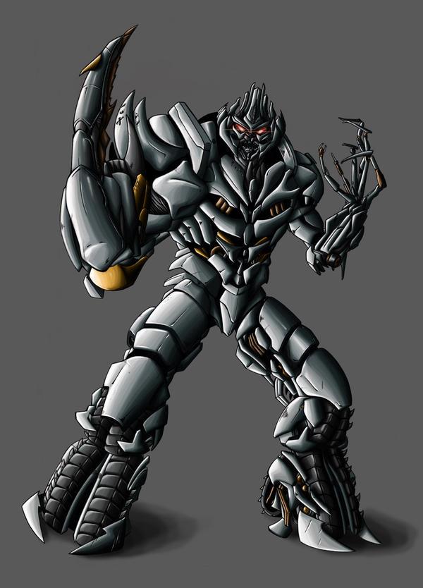 I Am Megatron by Legend-of-Blackout