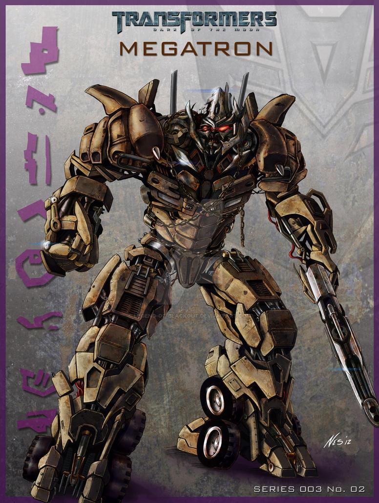 DOTM Megatron Poster by Legend-of-Blackout