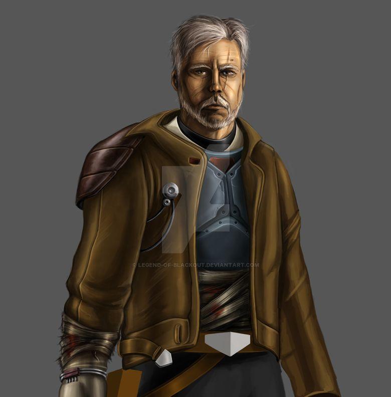 Old Man Kyle by Legend-of-Blackout