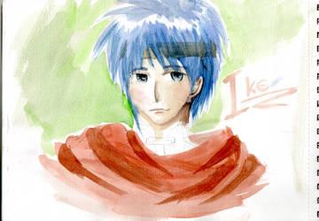 ike watercolour by MurasakiButterfly