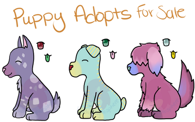 (Make An Offer/PWYW) Pup Adopts (OPEN) by LadyNightosphere