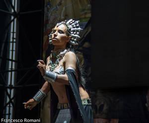 Akasha - on stage Lucca Comics 2013
