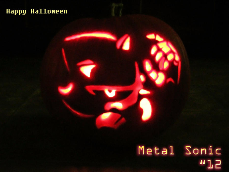 Happy Halloween Metal Sonic by Rally-the-Cheetah