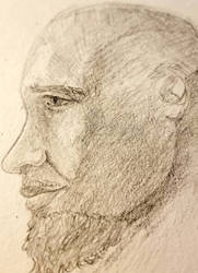 Face Sketch by red-mohawk