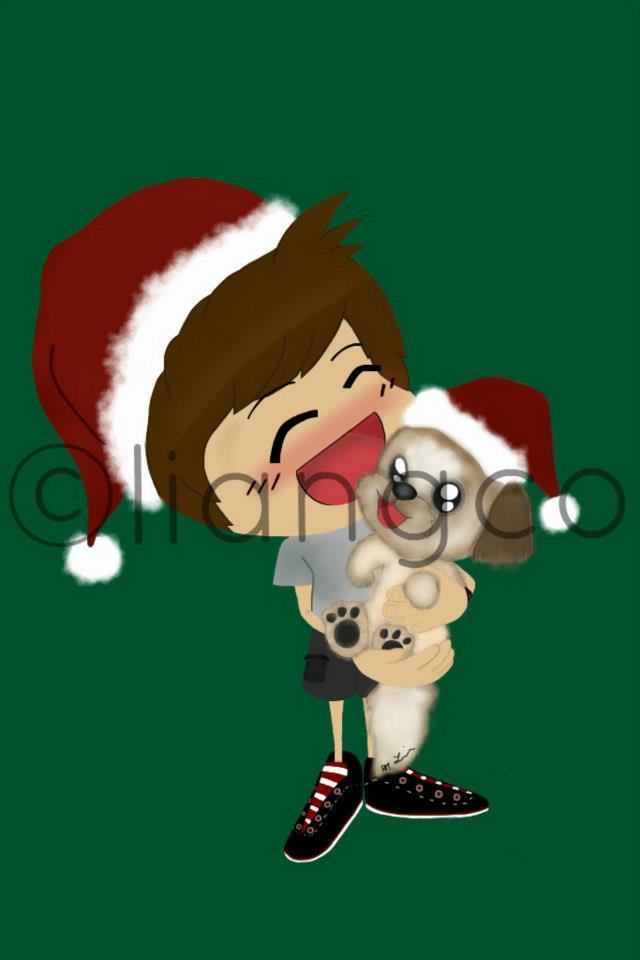 Christmas Mamai and Dre by liangcoaku