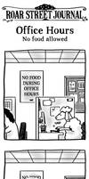[RSJ] Office Hours: No food allowed
