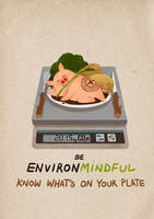Be EnvironMindful by l3onnie