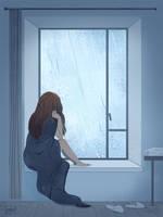 Rainy Day by l3onnie