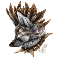 Animal Jam: @_Amberdove_ Commission by MagentaPawz-Art