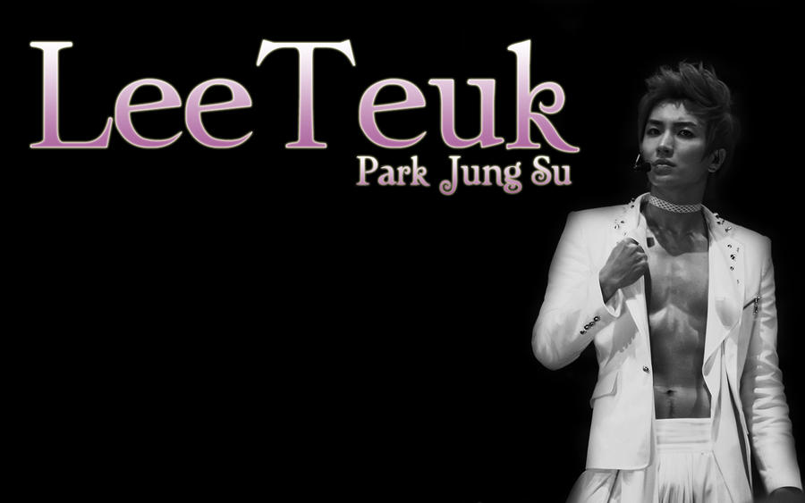 Wallpaper Leeteuk by NandeNoi on DeviantArt