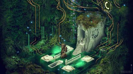 Pavilion vegetation by rickardwestman