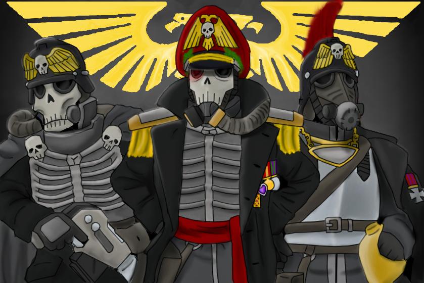 Krieg command squad by Hazard-Trooper