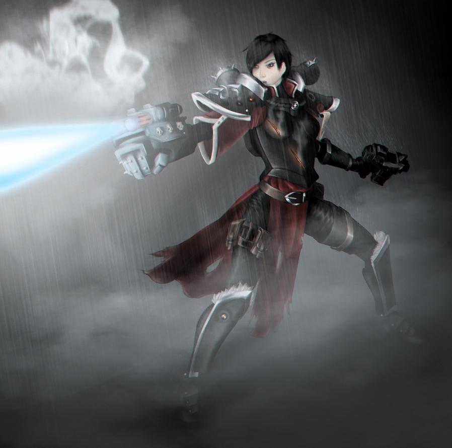Sister Of Death by Hazard-Trooper
