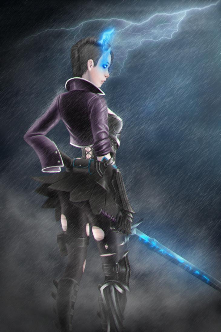 Blade Mistress by Hazard-Trooper