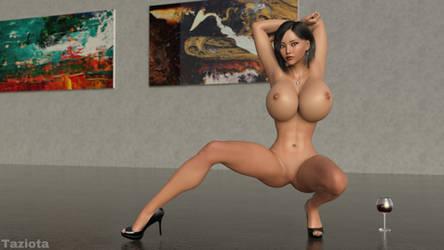 Kimiko: Art Gallery by taziota