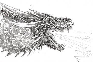Drogon by SamuraiDragon