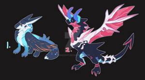 dragon adopt duo (closed)