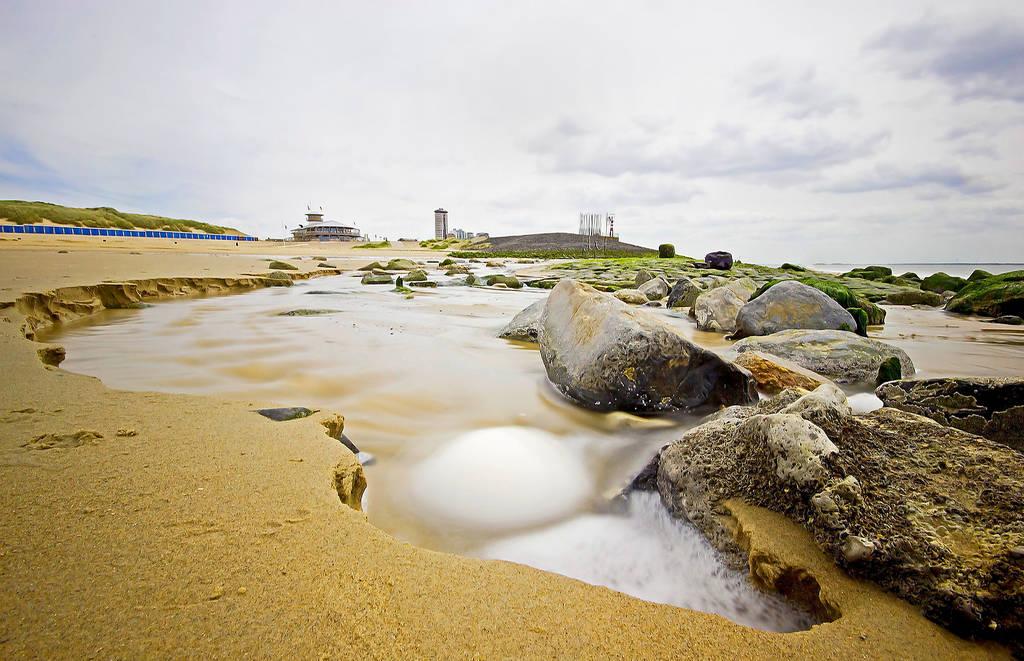 on the beach by clochartist-photo