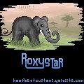 roxystar Pixel Tag by Dawndance